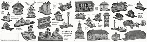 Lego Murstens Byggemodeller. Click for more