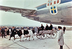 Inaguration of the Airport. Click for larger image